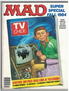 MAD SPECIAL (1984) 48 VF 100 page  LOOK AT TV