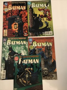 Batman Lot Of 5 Deadman Collection #530-532 *530 And 532 Have Variants