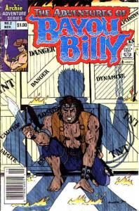 Adventures of Bayou Billy, The #2 (Newsstand) VG; Archie | low grade comic - sav