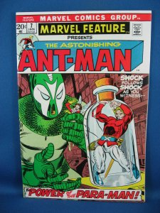 Marvel Feature 7 ANT MAN VF NM 1973