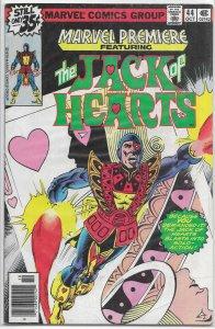 Marvel Premiere   #44 VG Jack of Hearts