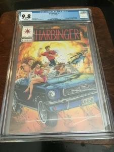 HARBINGER #1 - CGC 9.8 - 1ST APP HARBINGER W/COUPON - COPPER AGE BLUE CHIP KEY