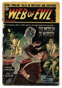 Web of Evil #16 1954- Pre code Horror Golden Age G