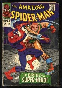 Amazing Spider-Man #42 GD/VG 3.0 1st Mary Jane Watson! Marvel Comics Spiderman