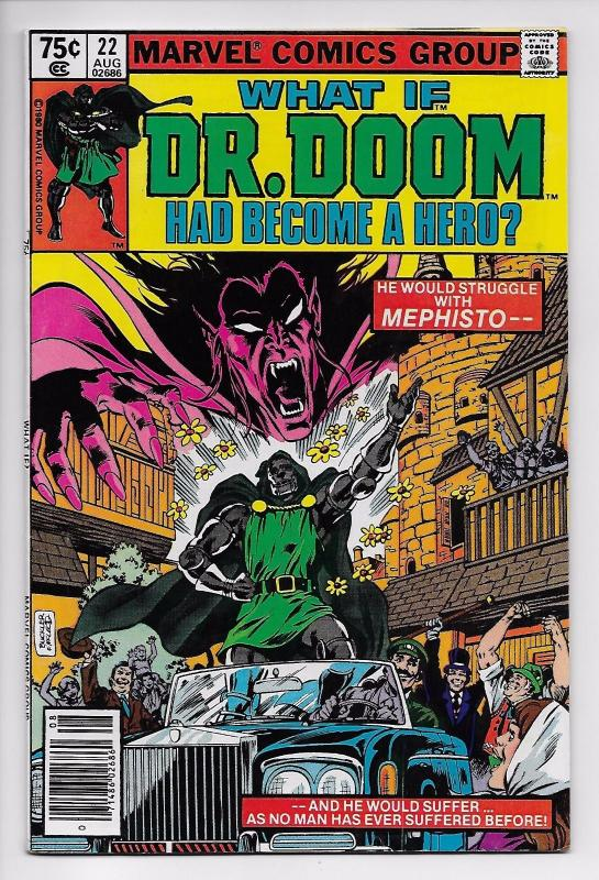 What If? #22 - Doctor Doom Had Become A Hero (Marvel, 1980) - VF