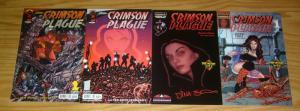 Crimson Plague #1-2 VF/NM complete series + original one-shot + variant - perez