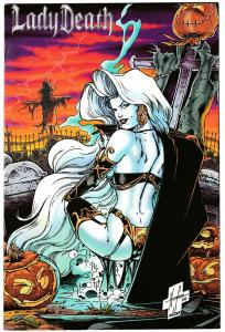 Untold Tales Of Lady Death #1 Premium Glow In The Dark Limited Edition (VF)