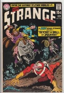 Strange Adventures #222 (Feb-70) VF High-Grade Adam Strange, Alana