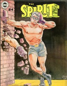 The SPIRIT #18 20 23 24, FN+ FN- VF VF-, Kitchen, Will Eisner, 1974, mags