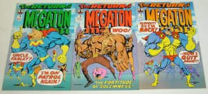 Return of Megaton Man #1-3 VF/NM complete series DON SIMPSON kitchen sink set 2