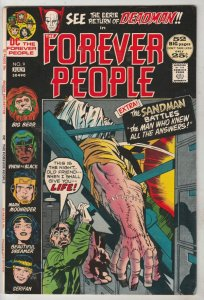 Forever People #9 (Jul-72) NM- High-Grade Big Bear, Beautiful Dreamer, Serifi...