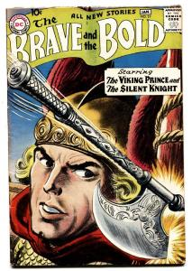 The Brave and the Bold #21 1959- Grey tone cvr-Viking Prince-comic book FN