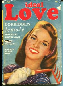 Ideal Love 5/1948-Columbia-spicy interior art-pulp romance-VG-