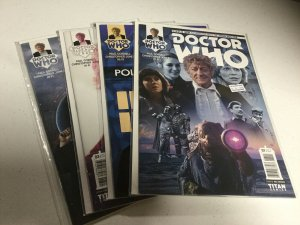 Doctor Who 1 2 3 4 Nm Near Mint Third Doctor Titan Comics