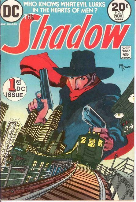 SHADOW (1973) 1 F-VF (KALUTA)  November 1973 COMICS BOOK