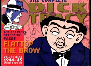 Complete Dick Tracy: Flattop The Brow. Vol.9 1944-1945-Hardcover