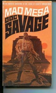DOC SAVAGE-MAD MESA-#66-ROBESON-G-JAMES BAMA COVER-1ST EDITION G