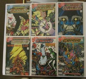 Crisis On Infinite Earths #1-12 Complete Set FN/VF DC 1985 Flash Supergirl