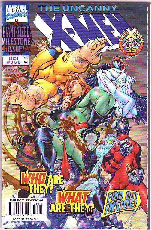 X-Men #360 (Oct-98) NM- High-Grade X-Men