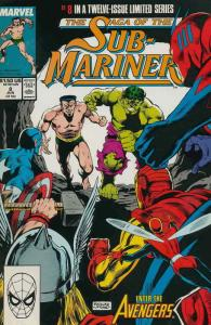 Saga of the Sub-Mariner #8 FN; Marvel | save on shipping - details inside