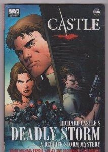 Castle: Richard Castle's Deadly Storm - Hardback Sealed 2011 MARVEL COMICS