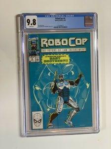 Robocop 4 Cgc 9.8 Wp Marvel