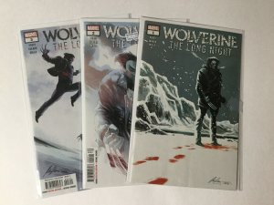 Wolverine The Long Night 1-3 1 2 3 Lot Nm Near Mint Marvel