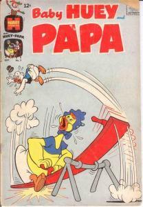 BABY HUEY & PAPA (1962-1968) 3 VG-  Sept. 1962 COMICS BOOK