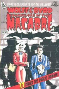 Wolff & Byrd: Counselors of the Macabre #6, NM- (Stock photo)