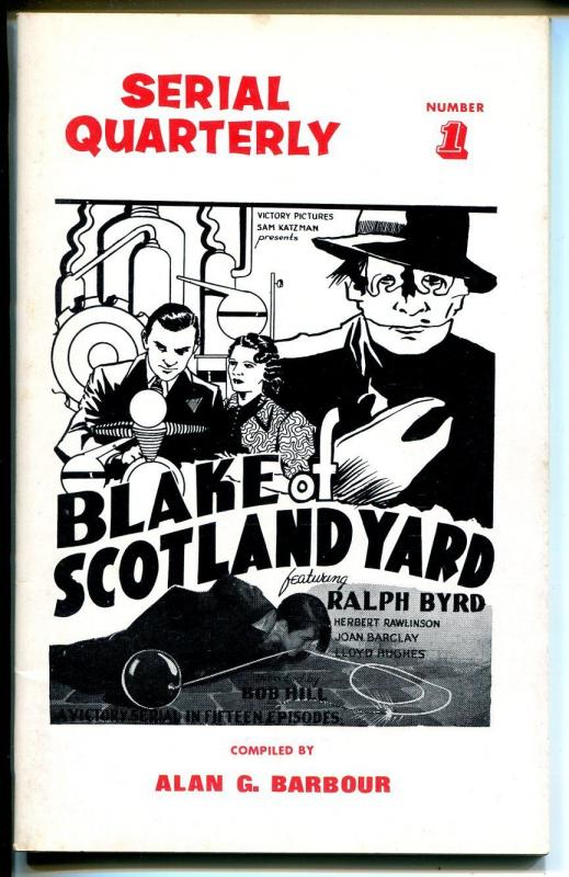 Serial Quarterly #1 1966-synopsis-Superman-Blake of Scotland Yard-1st issue-VF