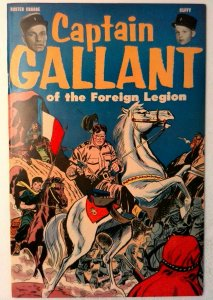 Captain Gallant of the Foreign Legion 1 US Pictorial 1955 FN/VF Golden Age Comic