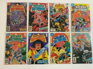 Batman and the Outsiders lot #3-29 DC 1st Series 22 pieces 6.0 FN (1983-'86)