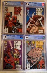 Deadpool 1 2 3 4 1-4 1994 Mini-series Limited Series Cgc 9.8 Wp Marvel
