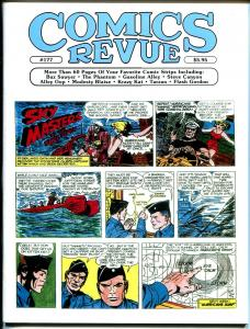 Comics Revue #177 2000-Romero-Raboy-Sky Masters-Phantom-Modesty Blaise-Tarzan-VF