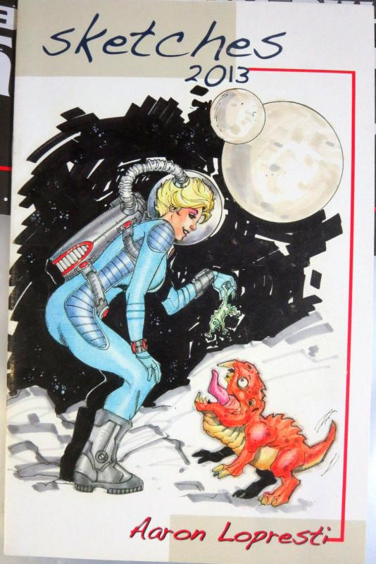 Sketches 2013 Aaron Lopresti SDCC Exclusive Comic Book Art Signed #4/500