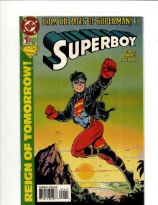 11 DC Comics Superboy # 1 2 3 4 5 6 7 8 10 11 Annual 1  GK22