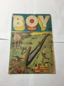 Boy Comics 32 1.5 Fair Cover Detached Otherwise Complete
