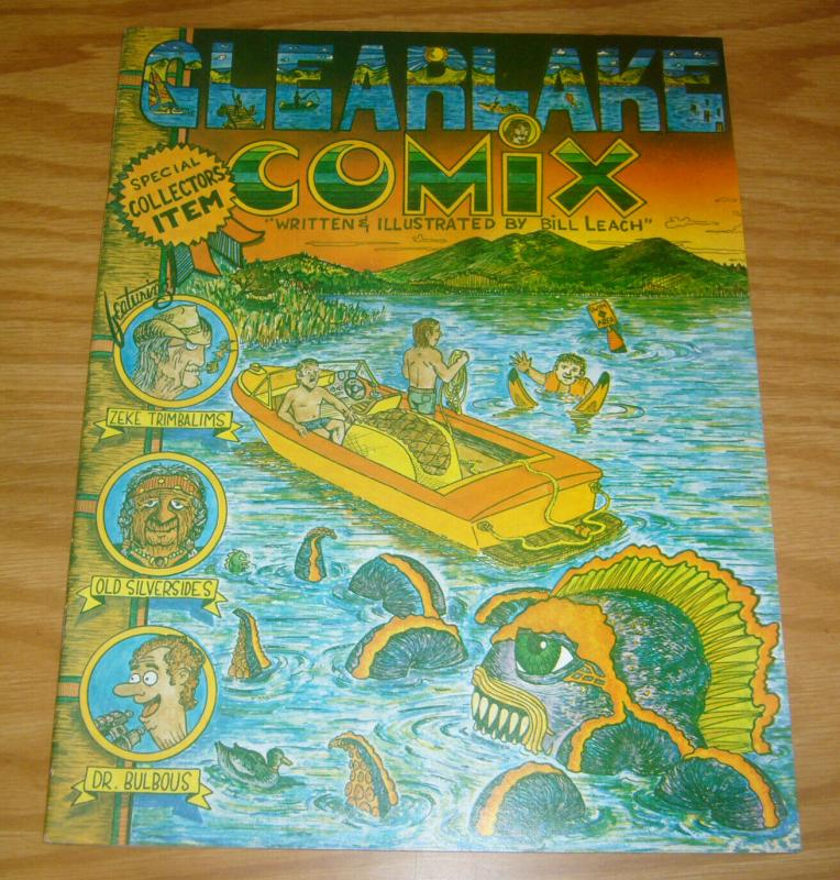 Clearlake Comix #1 VF; Polaris | save on shipping - details inside
