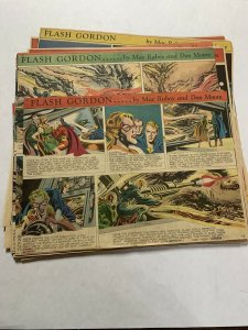 Flash Gordon Complete Year 1952 Tabloid Size Color Newspaper Sundays