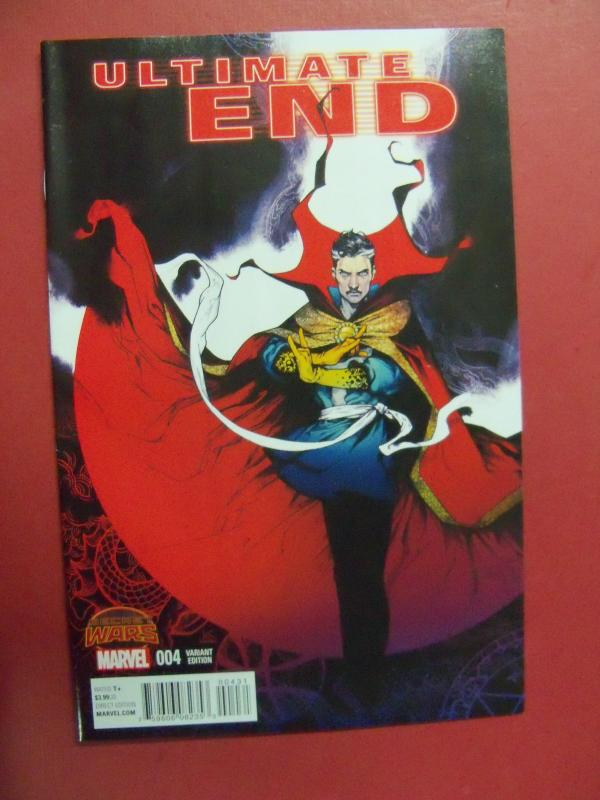 ULTIMATE END, SECRET WARS #4, VARIANT COVER, MARVEL