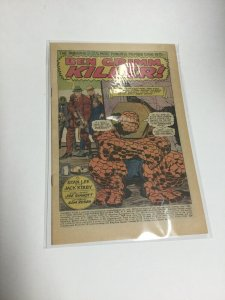 Fantastic Four 92 Coverless Marvel Comics Silver Age