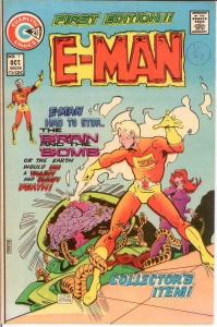E MAN 1 VF Oct. 1973 COMICS BOOK