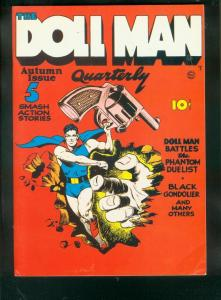 FLASHBACK #9 DOLL MAN QUARTERLY #1-REPRINT-QUALITY PUBS VF