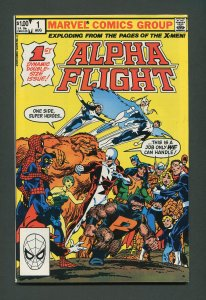 Alpha Flight #1  / 8.0 VFN   August  1983