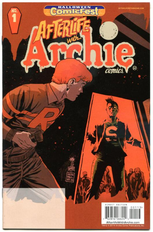 AFTERLIFE with ARCHIE #1 Halloween Comicfest, Promo, 2014, NM, Sabrina