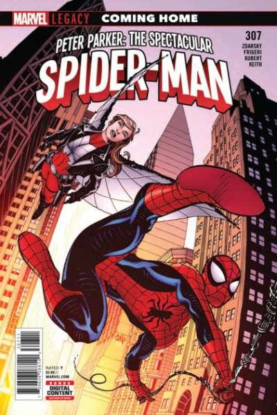 Peter Parker: The Spectacular Spider-Man (2018 series) #307, NM (Stock photo)