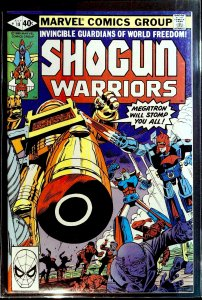 Shogun Warriors #18 (1980)