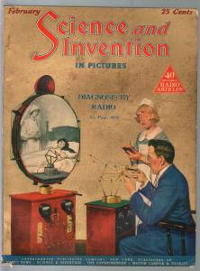 Science & Invention 3/1925-Gernsback-DeathRay-Dunninger-FN/VF
