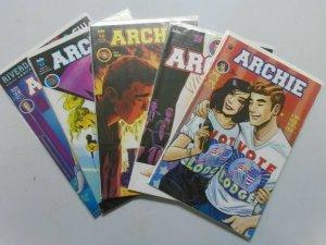 Archie (2nd Series), Set:#8-11, +15, 8.0/VF (2016)