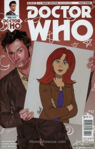 Doctor Who: The Tenth Doctor Year Three #11A VF/NM; Titan | save on shipping - d